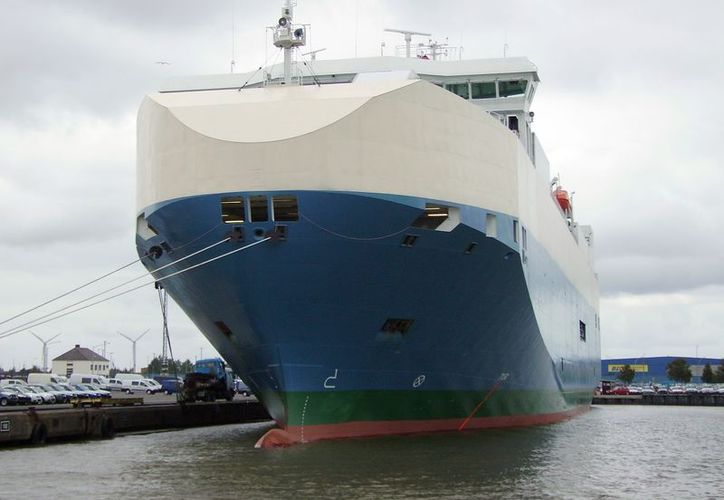 Un enorme navío, como el de la imagen, se hundió 15 minutos después del accidente. (Agencias)