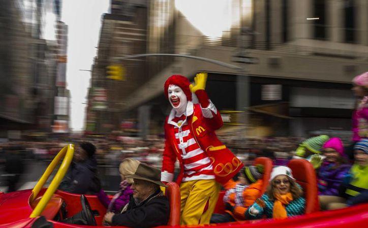 El payaso Ronald de McDonald's es uno de los personajes publicitarios más conocidos de la industria restaurantera. (nj.com)