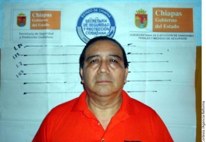 El ex mandatario chiapaneco estuvo un año y cinco meses en prisión. (Reforma)
