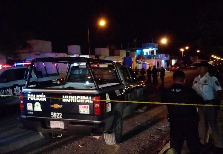 Los hechos se originaron la noche del pasado jueves, en un domicilio de la Región 248. (Eric Galindo/SIPSE)