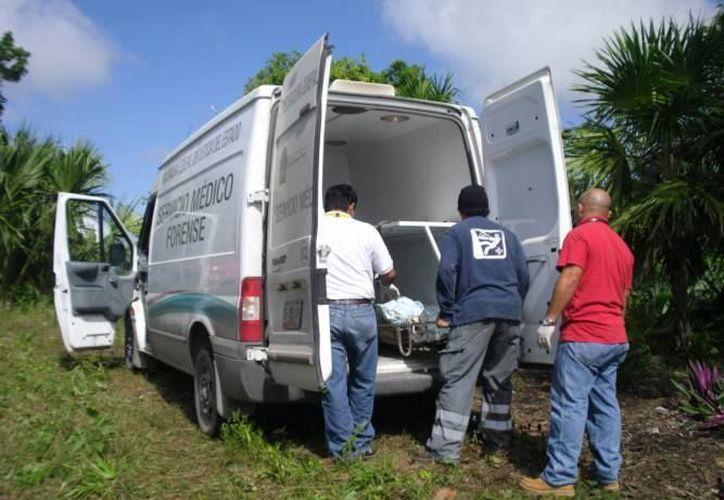 Durante el año pasado 28 cuerpos no identificados fueron depositados en la fosa común, en Quintana Roo. (Daniel Tejada/SIPSE)