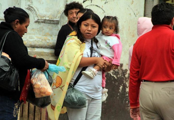 Protección Civil de Yucatán recomendó extremar precauciones para evitar enfermedades, a causa de las bajas temperaturas. (SIPSE)