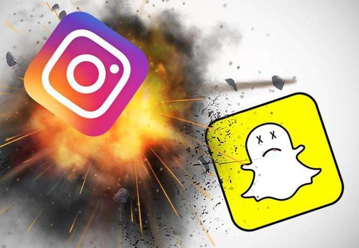 El diseño de la interfaz es exactamente el mismo al de las Stories de Instagram. (Agencia: andro4all)