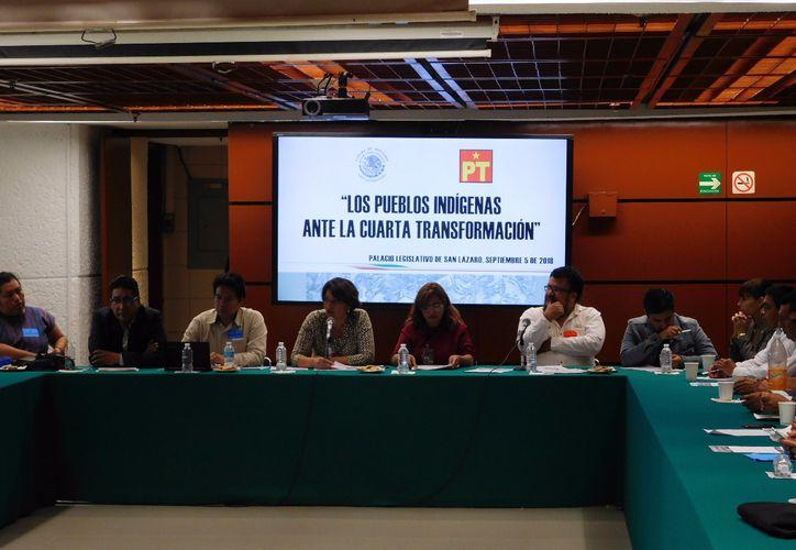 La reunión tuvo lugar en la sede del Congreso de la Unión. (Octavio Martínez/SIPSE)