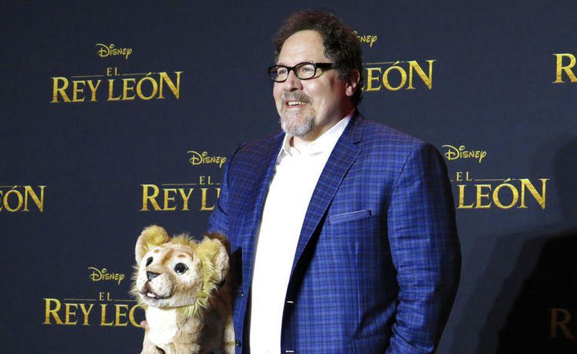 """El actor, guionista, productor y director Jon Favreau aprecia haber sido el entrenador del """"Rey León"""". (AP Foto / Berenice Bautista)"""