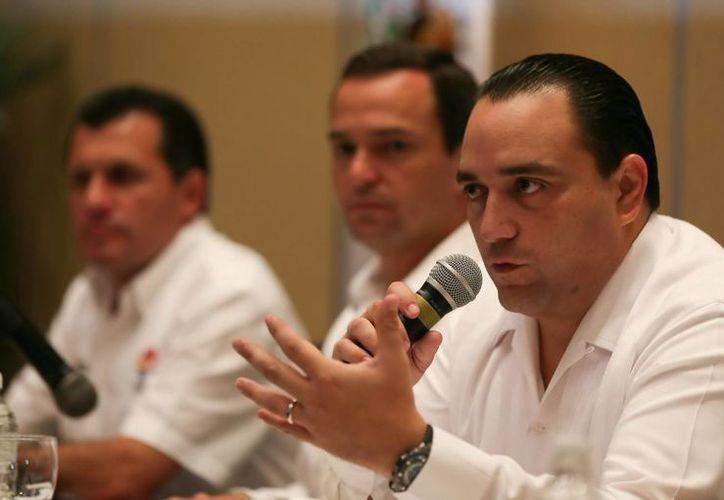 Roberto Borge Angulo, Gobernador del Estado de Quintana Roo. (Redacción/ SIPSE)