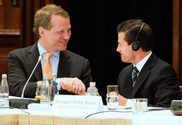 El presidente Enrique Peña Nieto visitó la ciudad de Hamburgo como parte de su gira por Alemania. (Presidencia)