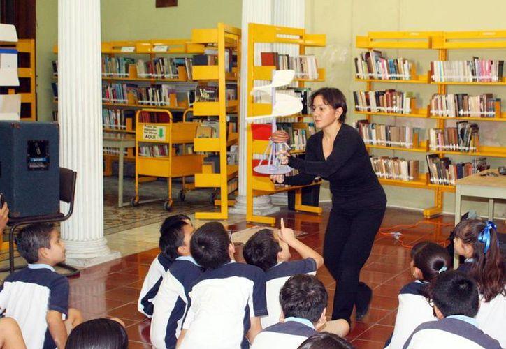 Los talleres se realizarán en la escuela ubicada sobre la avenida Itzaes. (Milenio Novedades)