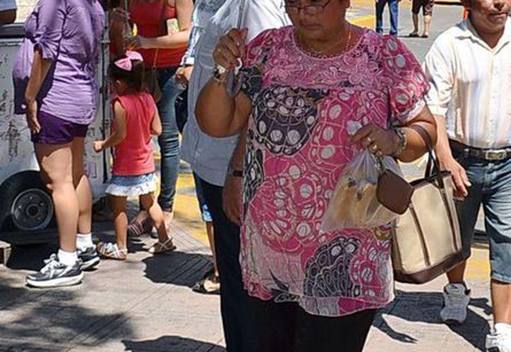 Ayer se registraron 35.3 grados como temperatura máxima en Mérida. (Milenio Novedades)