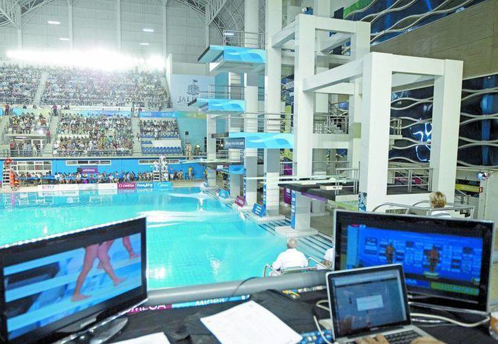 En 2013, Guadalajara albergó dos fechas del Mundial de clavados. En 2017 la capital tapatía será la sede del Mundial de Natación. (Milenio)