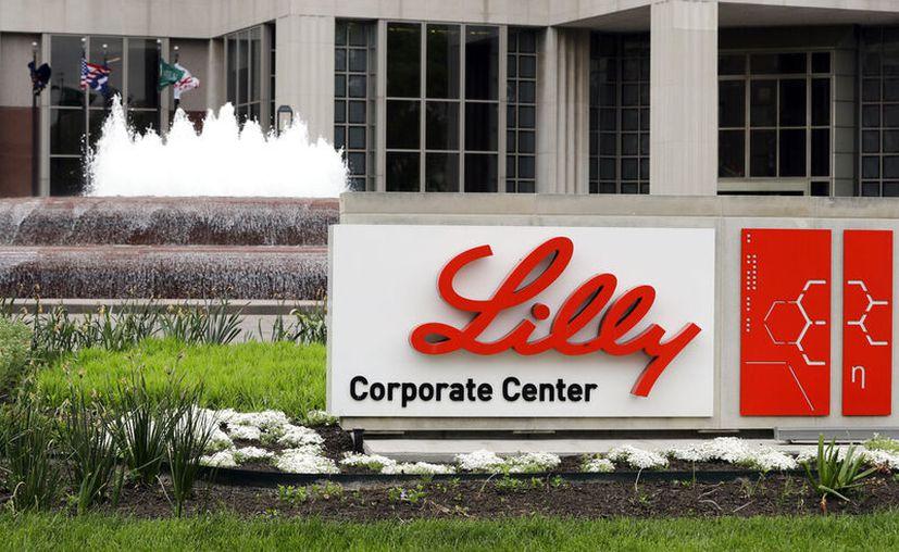 Oficinas corporativas de la farmacéutica Eli Lilly en Indianápolis, el 26 de abril de 2017. (AP Foto/Darron Cummings, File)