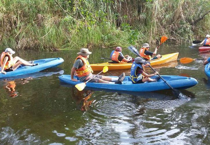 Ofrecen visitas guiadas, paseos en kayaks, avistamiento de aves, mariposas y animales silvestres, entre otros. (Javier Ortiz/SIPSE)