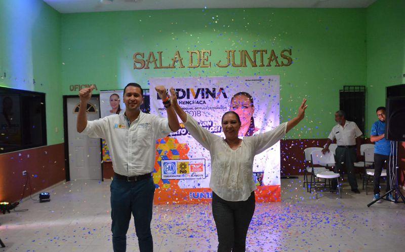 Ludivina asistió al Foro Juvenil 'Sumemos con el deporte'.