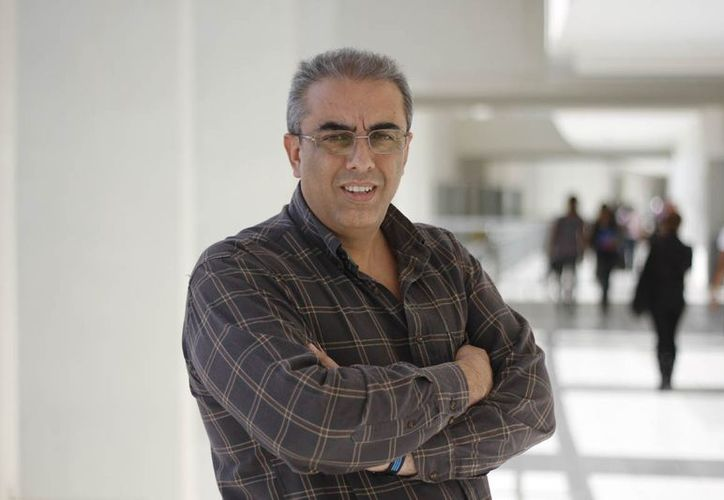 Sergio Lagunes Puls, investigador de la Universidad del Caribe. (Israel Leal/SIPSE)