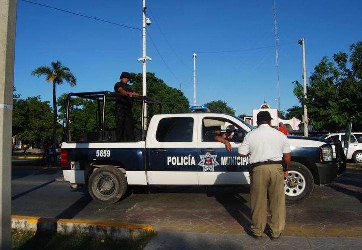 La Secretaría de Seguridad Pública y Tránsito cuenta con mil 947 elementos. (Tomás Álvarez/SIPSE)