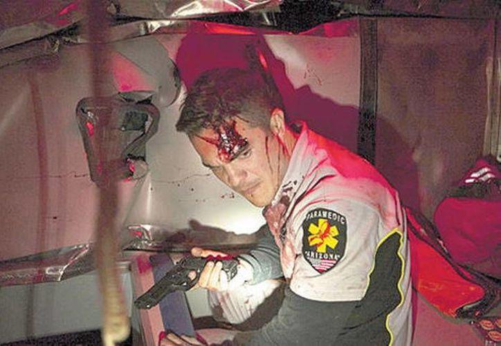 Becker quiso explorar el mundo de los paramédicos y combinarlo con el suspenso. (Pánico 5 Bravo/MILENIO)