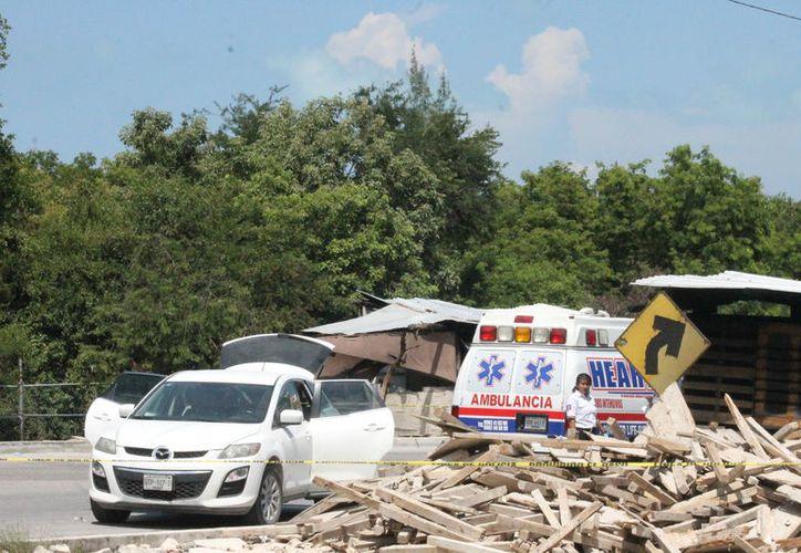 La víctima falleció antes de llegar al nosocomio para recibir ayuda médica. (Foto: Redacción/SIPSE)