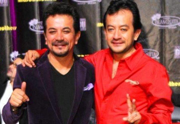 Los hermanos German y Freddy Ortega conformans Los Mascabrothers, que dicen extrañar los programas de comedia en televisión. (televisa.com)