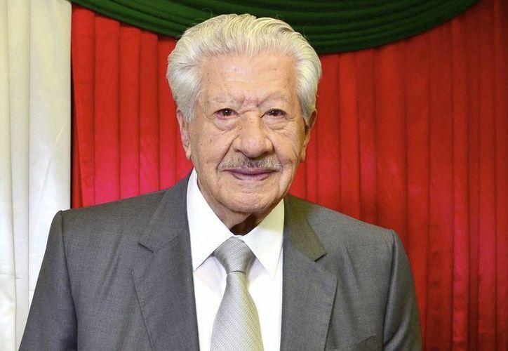 Ignacio López Tarso se encuentra en casa tras la operación a la que fue sometido el pasado 12 de diciembre. El actor cumplirá 92 años en los próximos días.(Notimex)