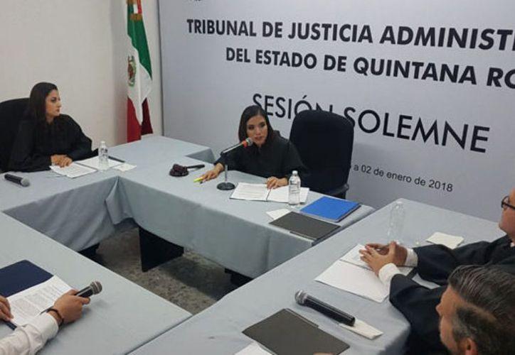 Magistrados del TJA solicitarán un aumento para el presupuesto del año 2019. (Joel Zamora/SIPSE)