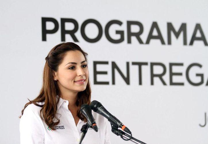 Mariana Zorrilla de Borge aclaró que las inscripciones al programa se realizarán a partir del mes de marzo. (Redacción/SIPSE)