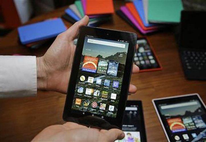 Amazón lanza su tableta Fire a 50 dólares