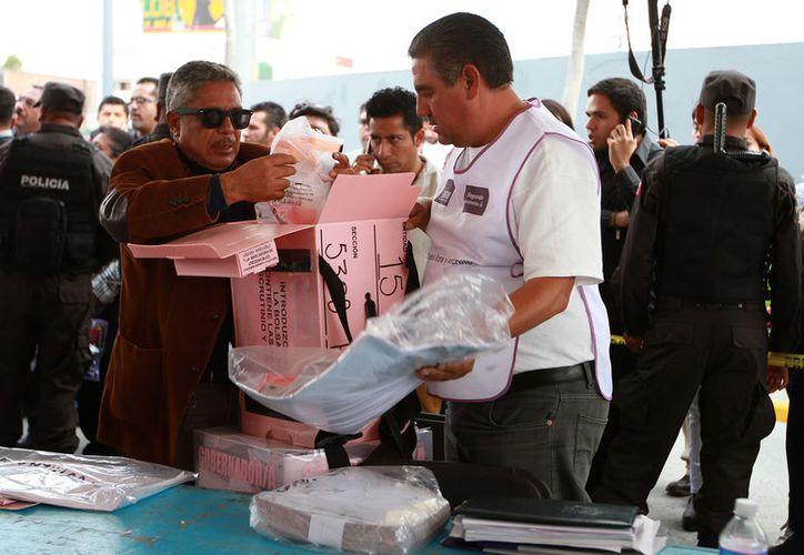 A las 18 horas cerraron las casillas en el Estado de México, Coahuila y Veracruz. (Foto: Notimex)