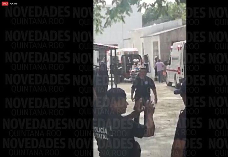 Una riña en la cárcel de Cancún dejó como saldo tres heridos. (Eric Galindo/SIPSE)