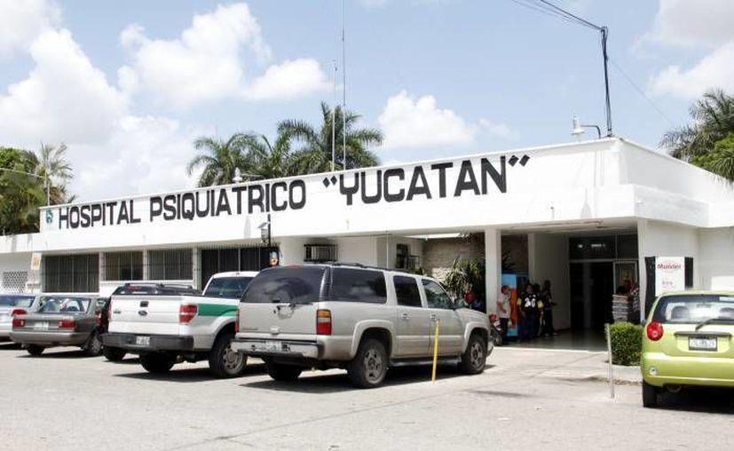 En el pasado el Hospital Psiquiátrico Yucatán fue criticado por las condiciones del inmueble y la manera en que los pacientes eran atendidos. (Archivo/ SIPSE)