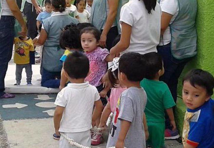 Aseguran que los pequeños se encuentran bien cuidados en las estancias de la Sedesol. (Milenio Novedades)