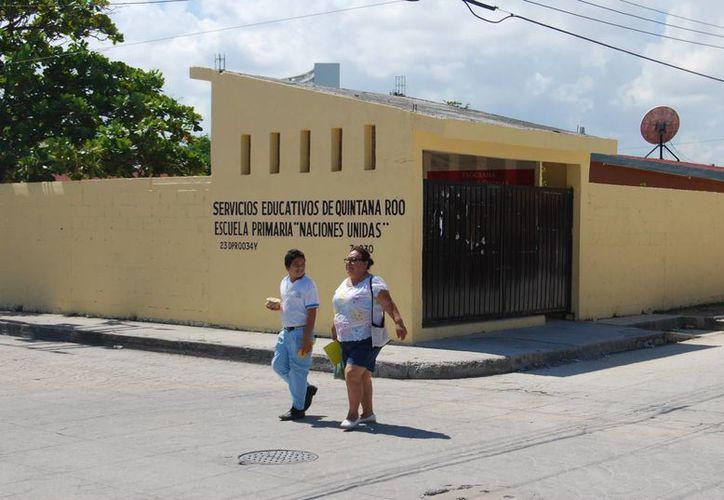 La mayor parte de las escuelas suspendieron sus actividades por segundo día consecutivo. (Tomás Álvarez/SIPSE)