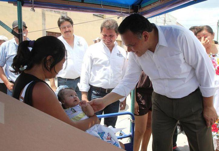 El gobernador Rolando Zapata estará este jueves en el Centro de Convenciones Yucatán Siglo XXI debido a un evento del Issste. (Foto del Gobierno de Yucatán)