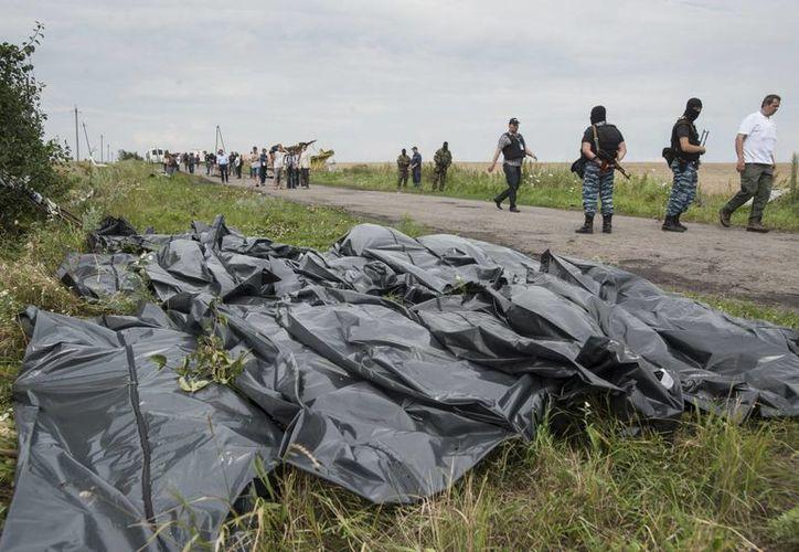 La gran mayoría de los pasajeros del vuelo de Malaysia Airlines eran holandeses. (AP)