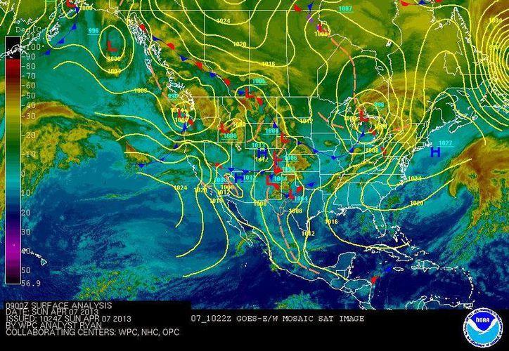 Se recomienda tomar las medidas de precaución necesarias por las altas temperaturas y los vientos y lluvias fuertes. (Redacción/SIPSE)