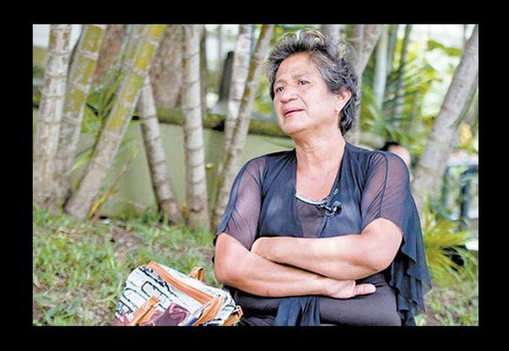 Minerva Espinoza también se fue de Veracruz, ella huyó en 2012 de Tlapacoyan después del secuestro de su esposo. (Araceli López/Milenio)