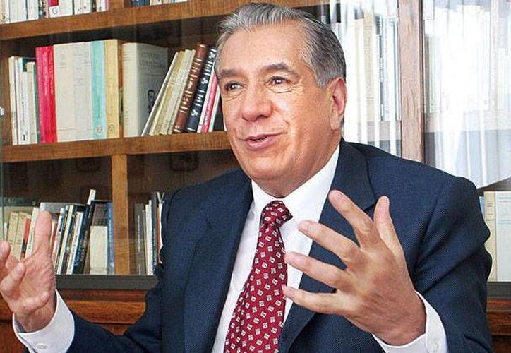 El escritor y académico mexicana estaba a pocas semanas de cumplir 76 años de edad.(Foto tomada de Milenio Digital)