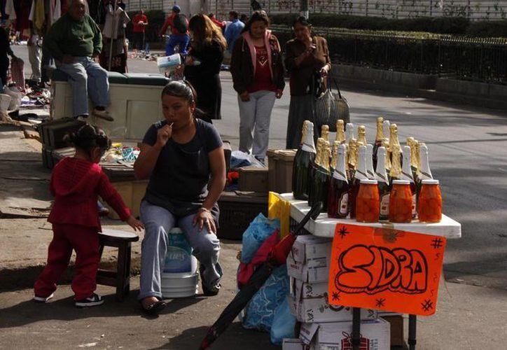 En México el ambulantaje es uno de los problemas más difíciles de combatir. (Notimex)