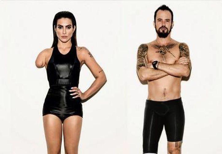 La campaña fue protagonizada  por los famosos actores brasileños Cleo Pires y Paulo Vilhena.(Foto tomada de Vogue Brasil)
