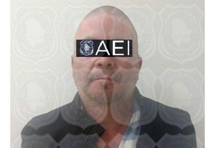 El detenido de 44 años de edad, fue puesto a disposición de las autoridades ministeriales. (Excélsior)
