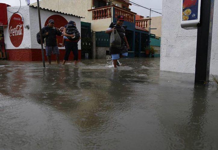 Se esperan precipitaciones moderadas con chubascos aislados. (Israel Leal/SIPSE)
