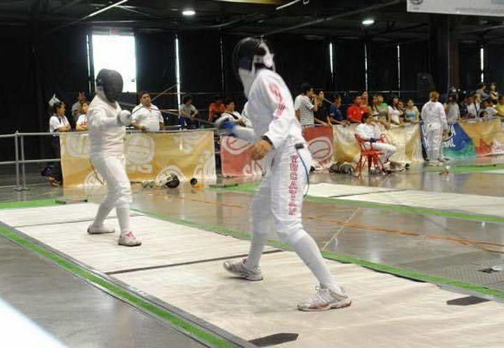 Cuatro esgrimistas yucatecas estarán varias semanas fuera del estado en diversas competencias internacionales. (Milenio Novedades)