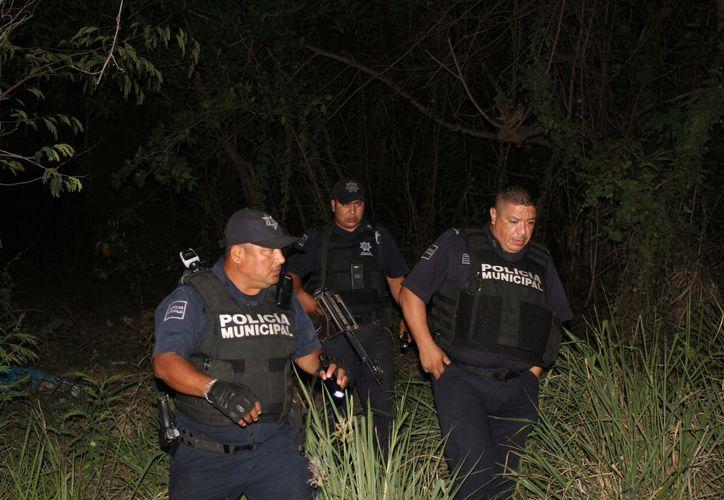 Sujetos huyeron tras cometer el delito contra una joven. (Foto: SIPSE)