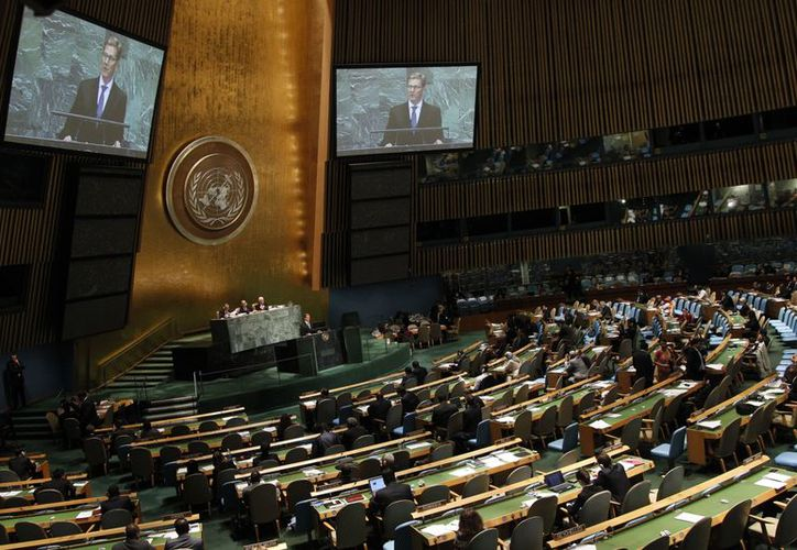 El año pasado Palestina solicitó ser adherido a la ONU como Estado miembro. (Archivo/AP)
