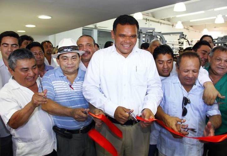 El gobernador Rolando Zapata estará este miércoles en Izamal con henequeneros. (SIPSE)