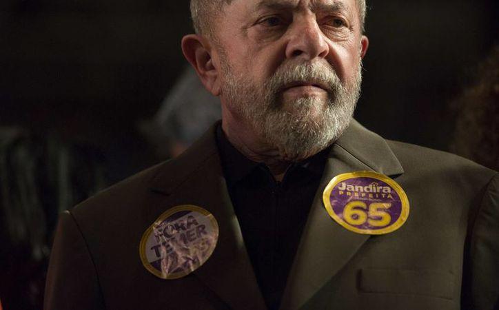 El expresidente Lula da Silva ha negado reiteradamente estar implicado en alguna trama de corrupción. (AP Photo/Leo Correa)