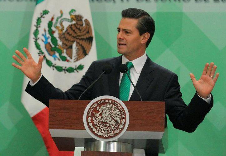 Peña expresó antes del partido su total respaldo al conjunto nacional. (Notimex)