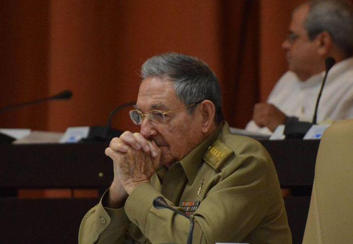 Raúl Castro anunció en 2013 que dejaría la presidencia de Cuba. (AFP)