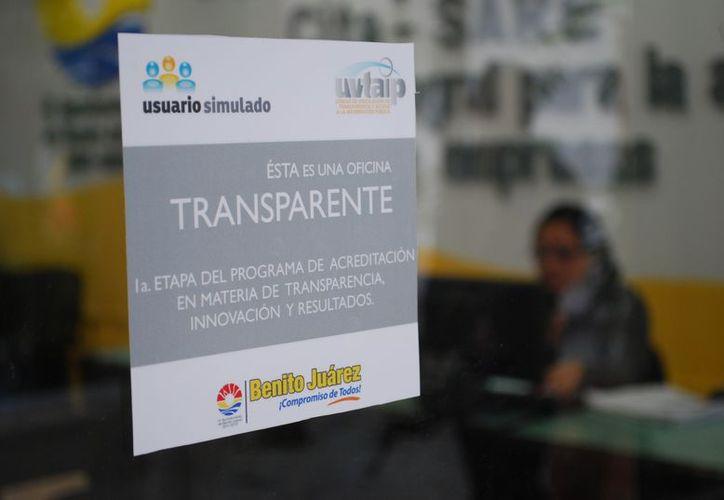 Únicamente 47 han aprobado las dos fases de señalética y transparencia en la primera etapa. (Tomás Álvarez/SIPSE