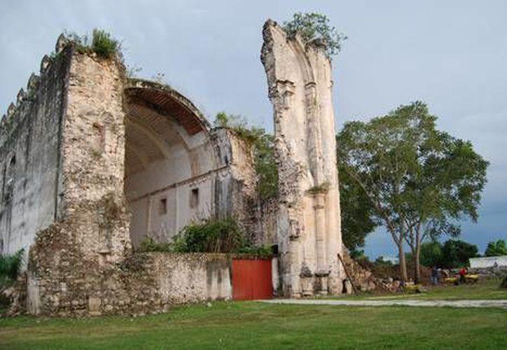 Los trabajos se desarrollaron en una primera etapa en los templos de Sabán, Sacalaca, Tihosuco y Lalcah. (Agencias)