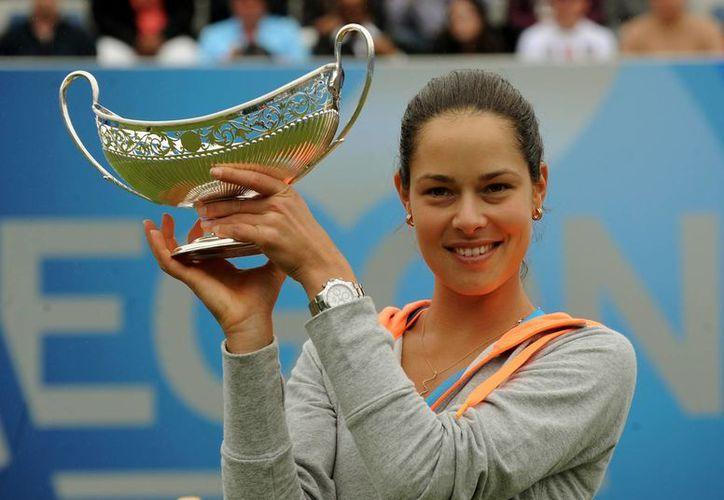 La campeona de Birmingha, Ana Ivanovic, es número 13 del ranking de la WTA. (Foto:AP)